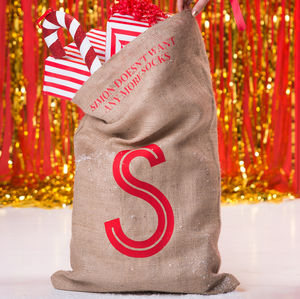 Christmas Secret Message Letter Sack - christmas sale