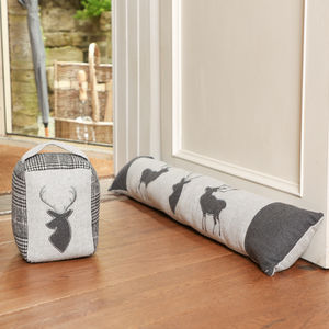 Aviemore Highland Fabric Doorstop And Draught Excluder