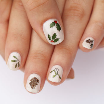 Christmas Nail Art Transfers