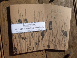 Bulrushes 100% Recycled Notebook