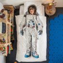 Snurk Children's Astronaut Duvet Bedding Set