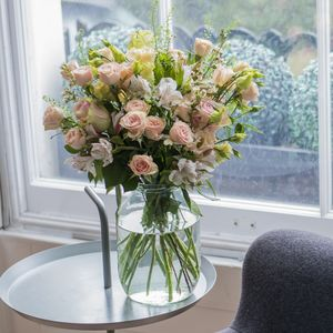 Three Month Letterbox Anniversary Flowers Subscription - flowers, plants & vases