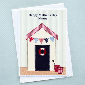 'Seaside' Personalised Mothers Day Card