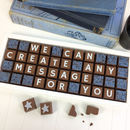 Personalised Chocolates In Large Box