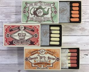 Mr Stanley's Chocolate Matches Trio Set