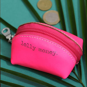 Undercoveruk Leather Lolly Money Tiny Coin Purse - bags, purses & wallets