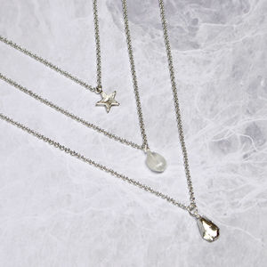 Personalised Layered November Birthstone Necklace - layering-jewellery