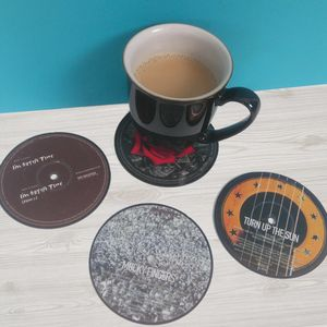 Oasis Vinyl Record Bookends Coasters Bowl - bookends