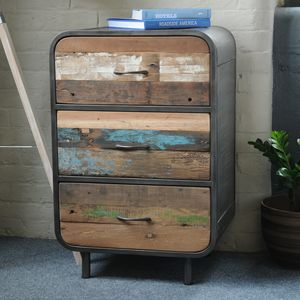 Boat Yard Three Drawer Cabinet - furniture