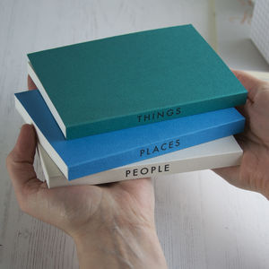 Personalised Word Mini Notebook - best gifts for him