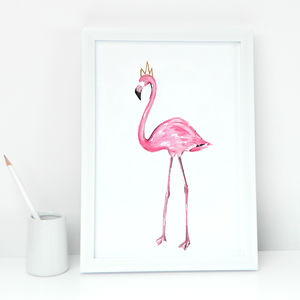 Pink Flamingo Print - shop by price