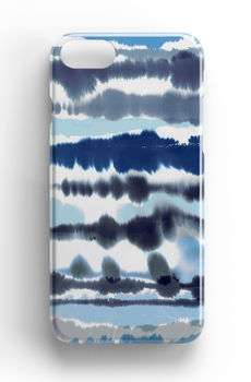 Watercolour Nautical Lines Phone Case iPhone Samsung