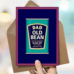 Dad 'Dad Bean' Card