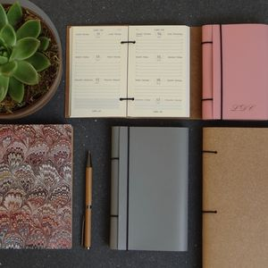 Recycled Leather Diary - 2017 diaries