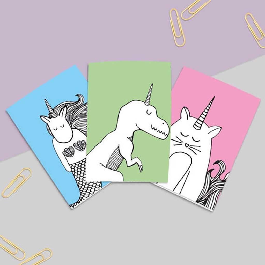 Alphabet Unicorn Notebook Set