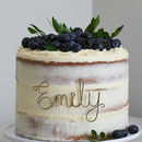 Personalised Name Cake Sider Decoration