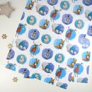 Winter Animals Wrapping Paper Sheets