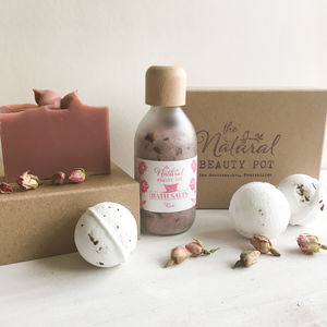 Rose Bath Time Gift Set