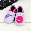 Personalised Cosmic Space Baby Shoes