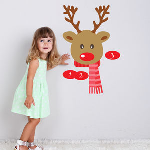 Pin The Nose On The Reindeer Game