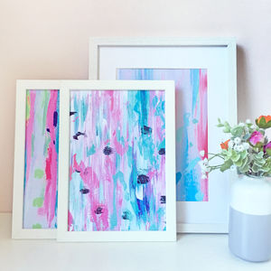 Set Of Three Colourful Abstract Prints - modern & abstract