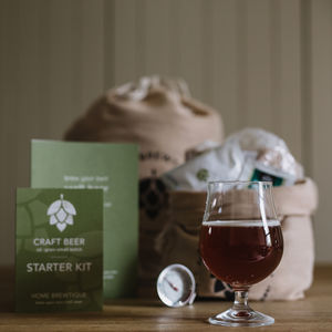 Craft Beer Brewing Starter Kit - 21st birthday gifts