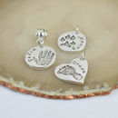 Personalised Hand Or Footprint Charm