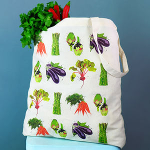 Vegetables Tote Bag