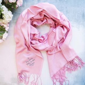 Personalised A Hug From Me To You Scarf - women's accessories