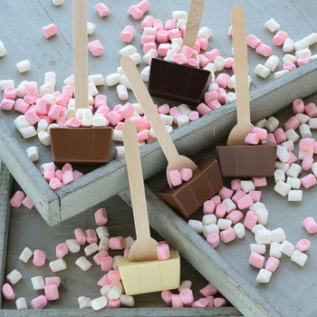 Marshmallow Hot Chocolate Spoon Selection