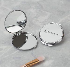 Personalised Compact Mirror - compact mirrors