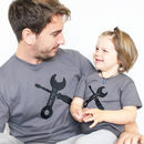'Mr Fix It' And 'Little Helper' T Set