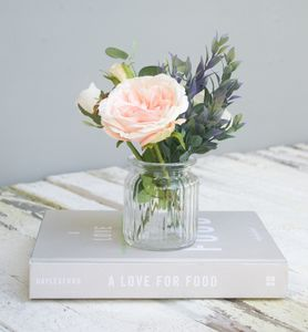 Rose Bouquet In Vase - artificial flowers