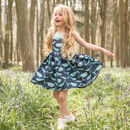 Handmade Girls Whale And Narwhal Party Dress