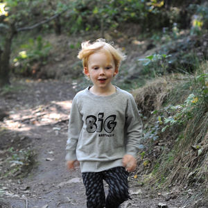 Big Brother Or Big Sister Sweatshirt - best gifts under £20
