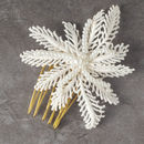 Angelica Fern Handbeaded Combs