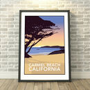 Carmel Beach, California USA Print