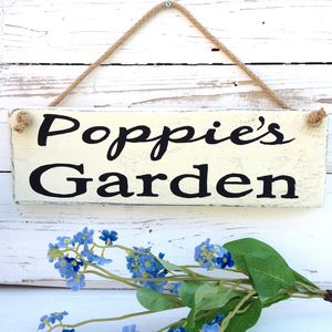Personalised Veg Garden Or Allotment Sign - art & decorations