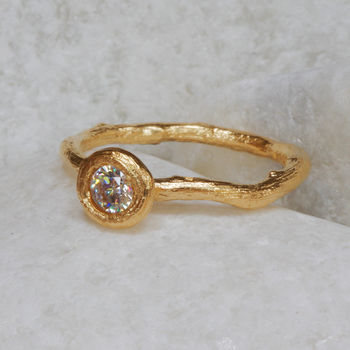 woodland diamond ring