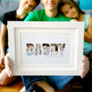 Personalised Daddy Photo Gift Print
