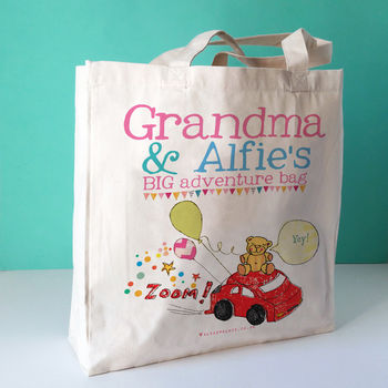 Personalised Grandparent Bag