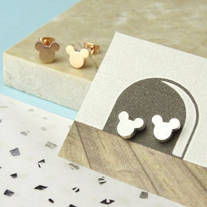 Mouse Ears Earrings - earrings
