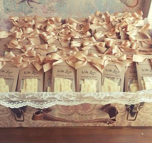 Personalised Wedding And Party Chocolate Favours - wedding favours