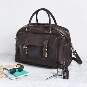 Luxury Leather Travel Bag - new lines added