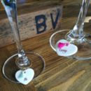 Personalised Hen Party Glass Charms