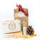 Organic Soap And Lipbalm Gift Set, Soil Association