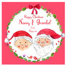 Personalised Grandparents Christmas Card