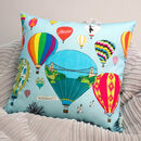 Bristol Balloons Illustrated Cushion Cover