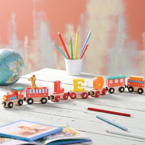 Personalised Circus Name Train - toys & games