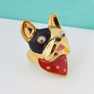 French Bulldog Ring - rings